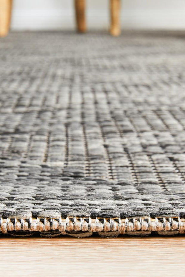 Terrace Cain Rug Brown (1414889570355)