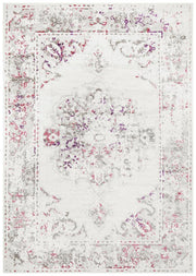 Alexa Transitional Rug White Pink Grey-Transitional-Rug Culture-Rug Emporium (1417096855603)