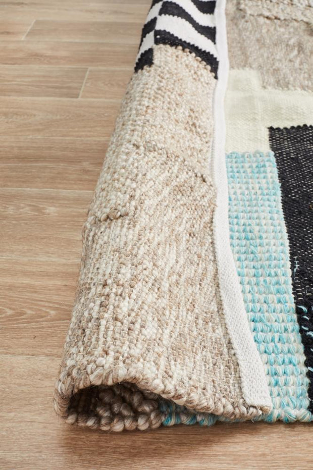 Bergen Multicolour Scandi Inspired Floor Rug-Modern-Rug Culture-Rug Emporium (11018402311)