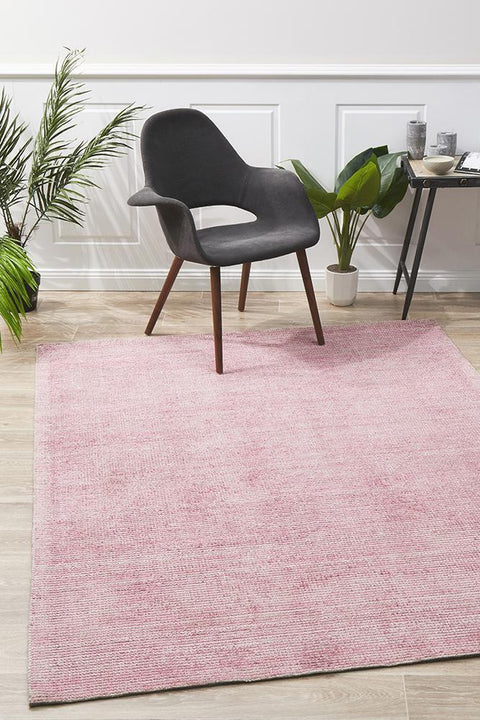 Bonn Rose Cotton & Rayon Floor Rug-Modern-Rug Culture-Rug Emporium (10512528199)