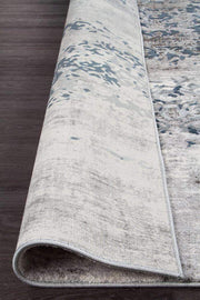 Casper Distressed Modern Rug Blue Grey White-Modern-Rug Culture-Rug Emporium