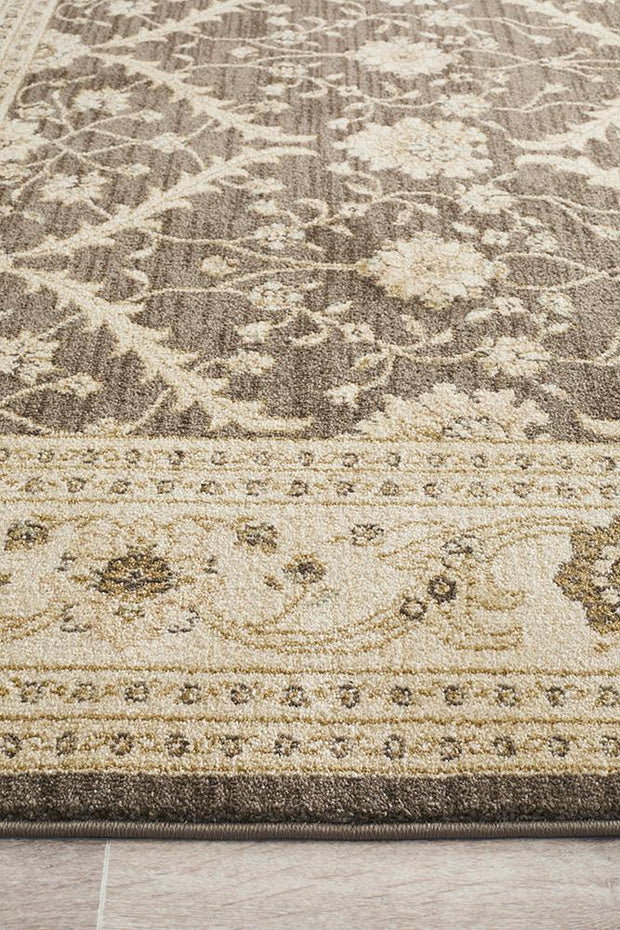 Chobi Design Rug Brown Bone-Traditional-Rug Culture-Rug Emporium (617877176371)