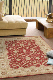 Chobi Design Rug Red Bone-Traditional-Rug Culture-Rug Emporium (617877012531)