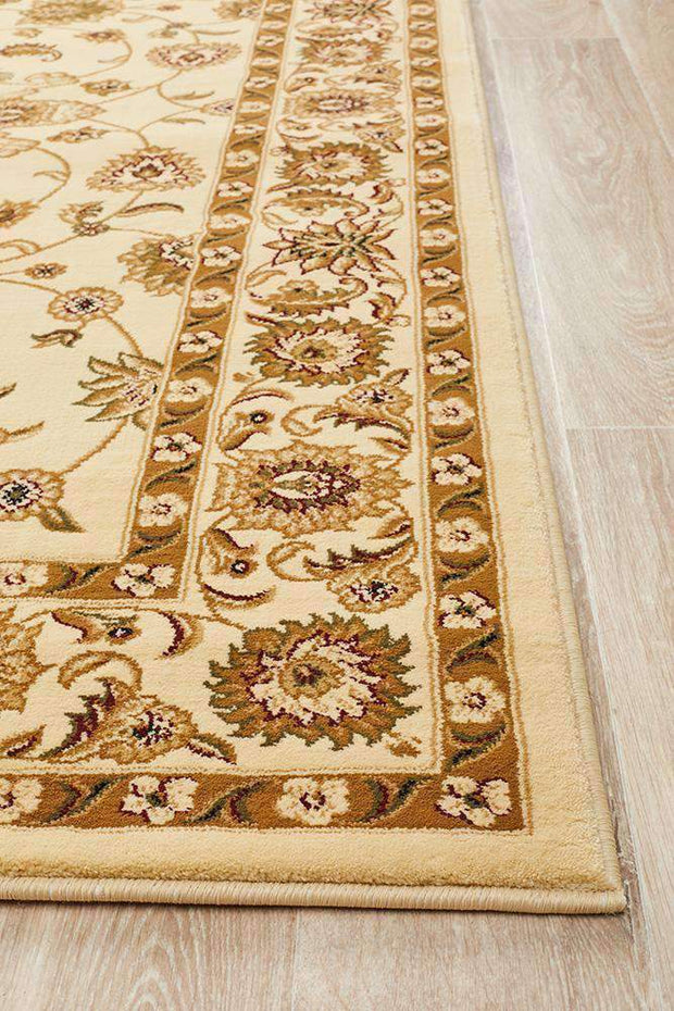 Classic Rug Ivory With Ivory Border-Traditional-Rug Culture-Rug Emporium (617899327539)