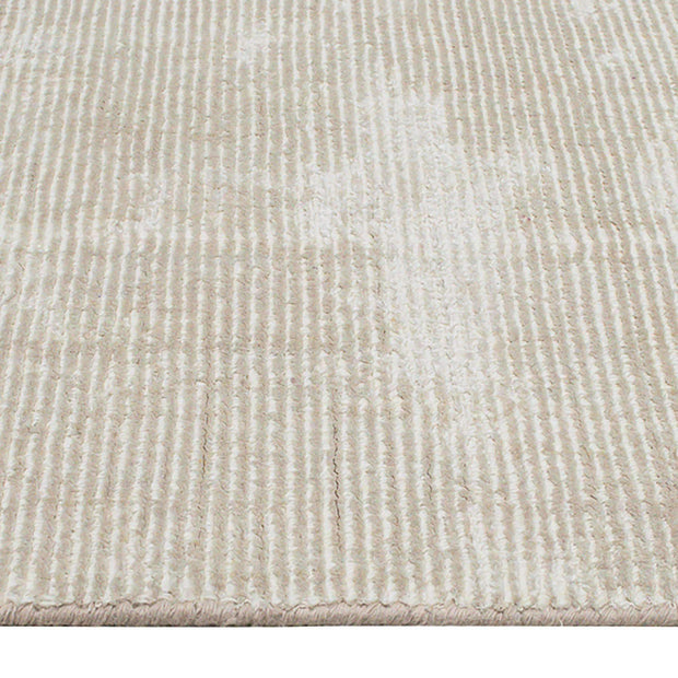 Elements Hand-Knotted Wool & Viscose Beige Rug-Modern-Colorscope by Cadry's-Rug Emporium (502911303731)