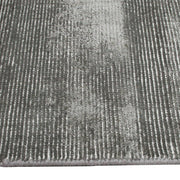 Elements Hand-Knotted Wool & Viscose Grey Rug-Modern-Colorscope by Cadry's-Rug Emporium (502913302579)