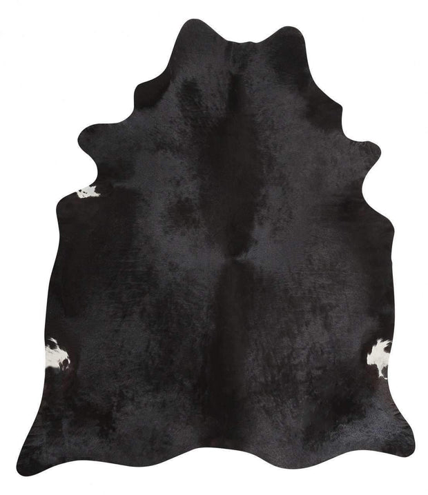 Exquisite Natural Cow Hide Black-Cowhide-Rug Culture-Rug Emporium (8814677959)