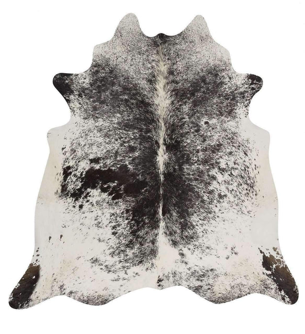 Exquisite Natural Cow Hide Salt & Pepper Black-Cowhide-Rug Culture-Rug Emporium (8814650887)
