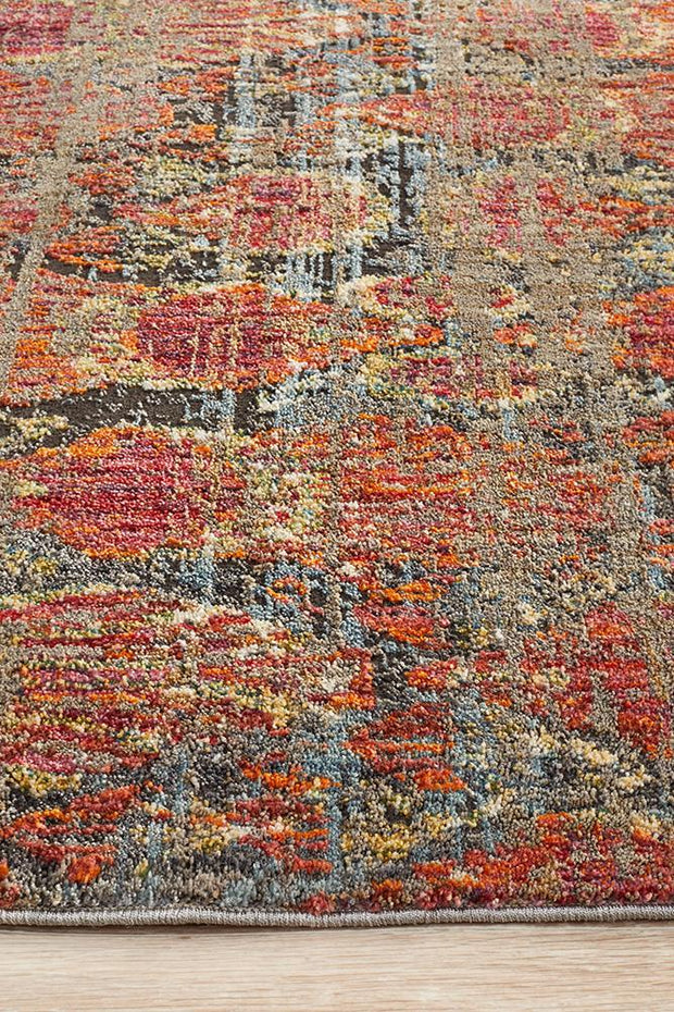 Fluid Eclipse Modern Red Rug-Modern-Rug Culture-Rug Emporium (617868853299)