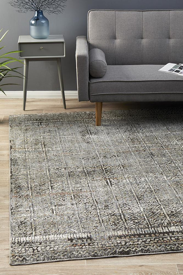 Fluid Evening Modern Grey Rug-Modern-Rug Culture-Rug Emporium (617869115443)