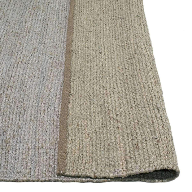 Hand-Woven Jute Deluxe Rope Mist/Silver Rug-Flatweave-Colorscope by Cadry's-Rug Emporium