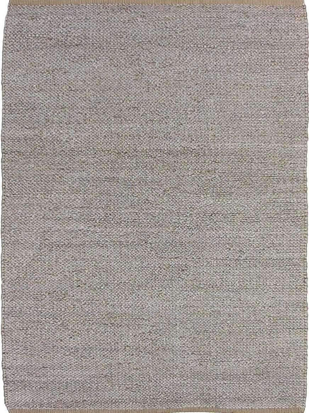 Hand-Woven Jute Deluxe Rope Slate Rug-Flatweave-Colorscope by Cadry's-Rug Emporium