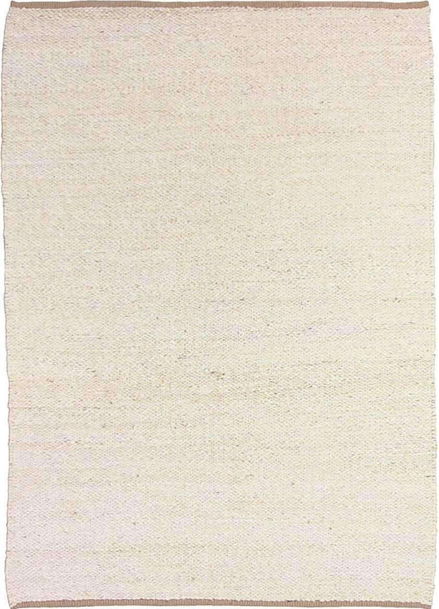 Hand-Woven Jute Deluxe Rope White Rug-Flatweave-Colorscope by Cadry's-Rug Emporium