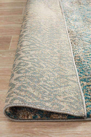 Hanna Lace Rug Blue Natural-Modern-Rug Culture-Rug Emporium (3926281991)