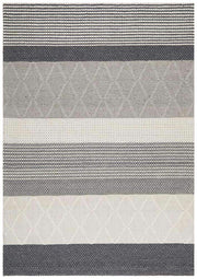 Karlsson Wool Hatch Textured Rug-Modern-Rug Culture-Rug Emporium (11018372615)