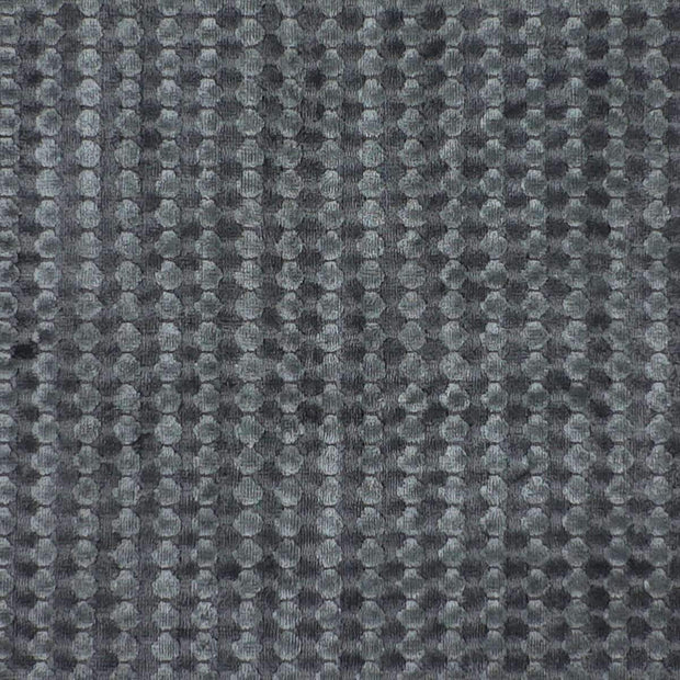 Luxe Handloomed Viscose Charcoal Rug-Modern-Colorscope by Cadry's-Rug Emporium (508444246067)