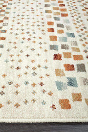 Mayfair Squares Bone Rug-Traditional-Rug Culture-Rug Emporium (10645188807)