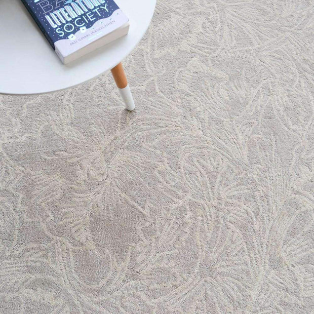 Morris & Co Poppy Cream 28409-Designer-William Morris-Rug Emporium (1587882917939)