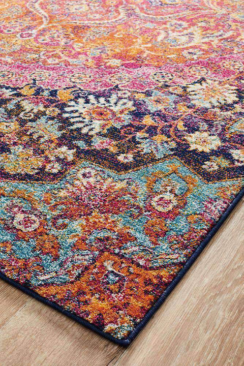 Museum Preston Multi Coloured Rug-Traditional-Rug Culture-Rug Emporium (635530838067)