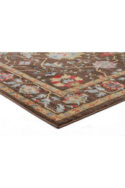 Nain Persian Design Rug Brown Red-Traditional-Rug Culture-Rug Emporium (617876815923)