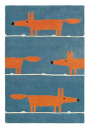 Scion Mr Fox Denim 25318-Designer-Scion Rugs-Rug Emporium (1587787563059)