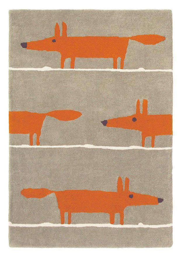 Scion Mr Fox Rug Cinnamon 25303-Designer-Scion Rugs-Rug Emporium (1587802112051)