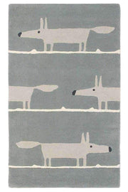 Scion Mr Fox Silver 25304-Designer-Scion Rugs-Rug Emporium (1587802308659)