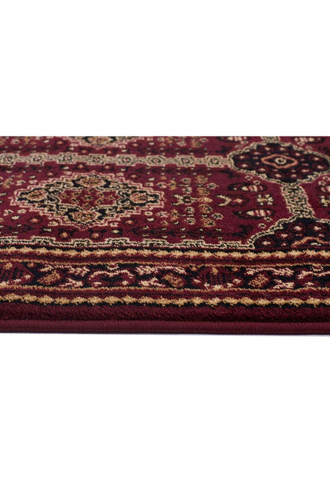 Traditional Afghan Design Rug Burgundy Red-Traditional-Rug Culture-Rug Emporium (1044062529)