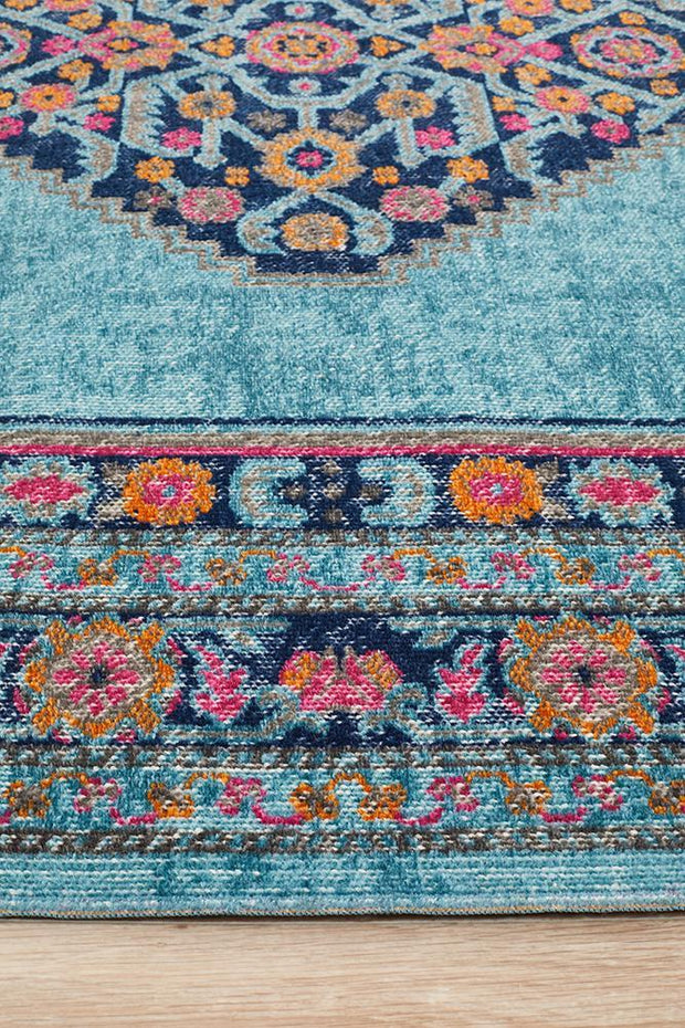 Whisper Diamond Blue Rug-Traditional-Rug Culture-Rug Emporium