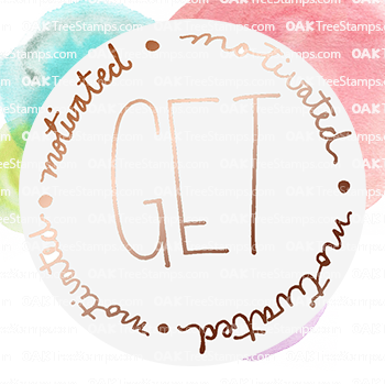 Get Motivated Sticker