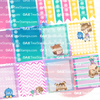 On The Line Planner Stickers for the Erin Condren Planner