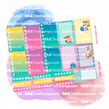 On The Line Planner Stickers for the Happy Planner