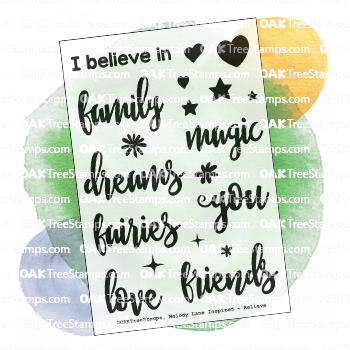 Believe Stamp Set
