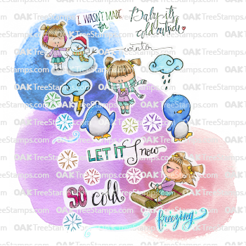 Winter Bliss Sticker Page