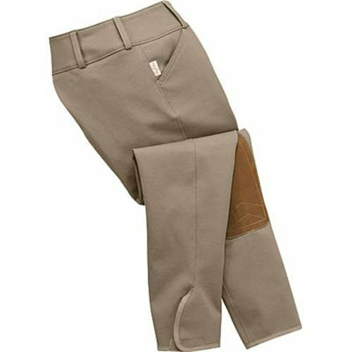 The Tailored Sportsman Girls TS Trophy Hunter Front Zip Breech - CarouselHorseTack.com