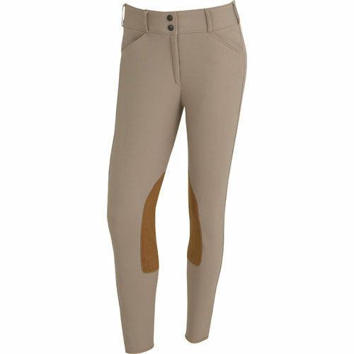 The Tailored Sportsman Ladies TS Trophy Hunter Front Zip Mid Rise Breech - CarouselHorseTack.com