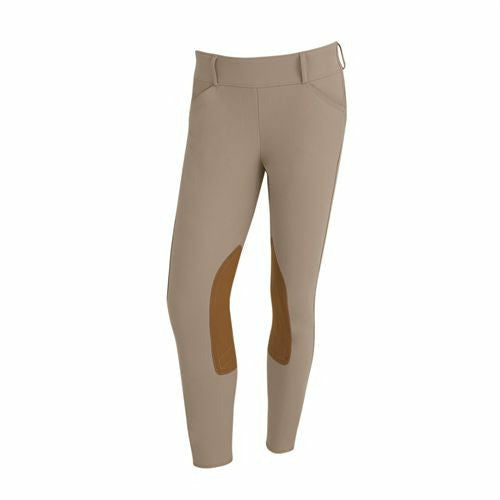 The Tailored Sportsman Ladies TS Trophy Hunter Side Zip Mid Rise Breech - CarouselHorseTack.com