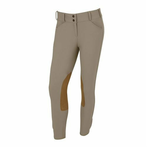 The Tailored Sportsman Ladies TS Trophy Hunter Front Zip Low Rise Breech - CarouselHorseTack.com