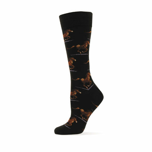 Adult Running Horses Socks