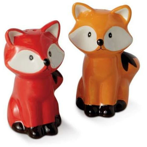 Fox Salt & Pepper Shaker Set