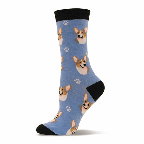 Portrait Corgi Socks