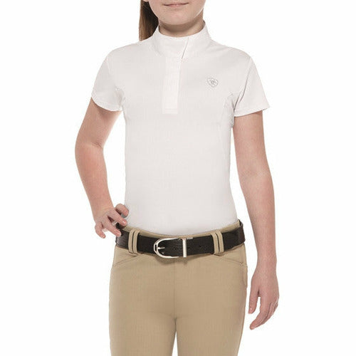Ariat Girls Aptos Short Sleeve Show Shirt - CarouselHorseTack.com