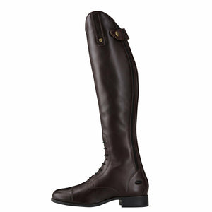Ariat Ladies Heritage Contour II Field Zip Tall Riding Boot - Sienna