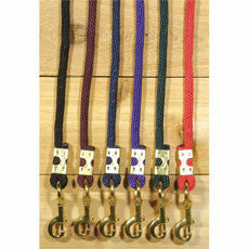 Dura Tech 8 Ft Nylon Braided Round Lead - CarouselHorseTack.com