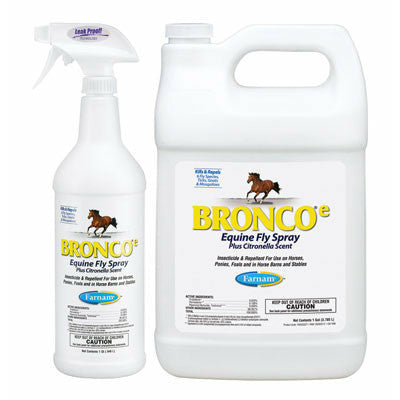 Bronco E Citronella Equine Fly Spray
