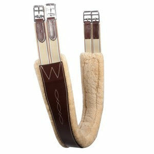 Pinnacle Sheepskin Lined Girth - CarouselHorseTack.com