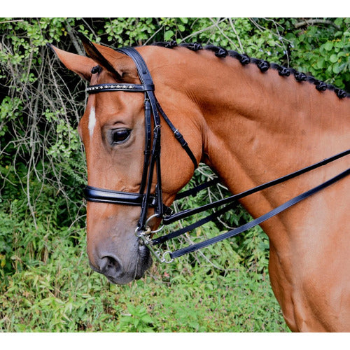 KL Select Red Barn Cadence Weymouth Bridle