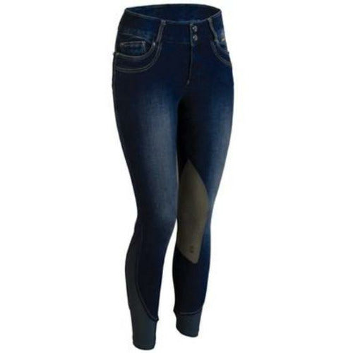 Tredstep Ladies Denim II Kneepatch Breech