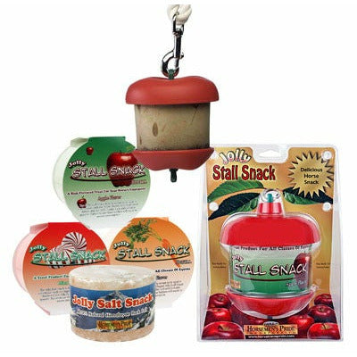 Jolly Stall Snack Holder and Apple Treat - CarouselHorseTack.com