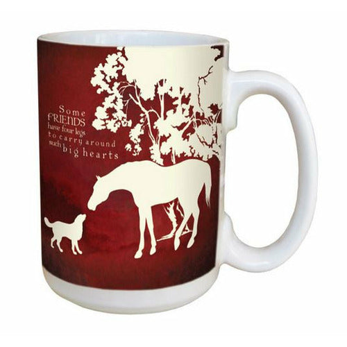 Favorite Ceramic Mug - Four Legged Friends